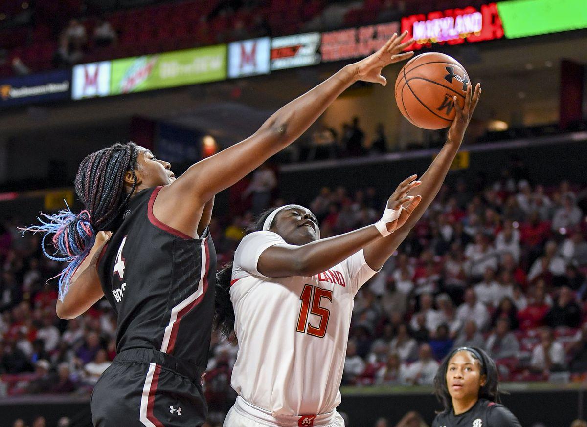 NCAA Women's Basketbal- South Carolina at Maryland
