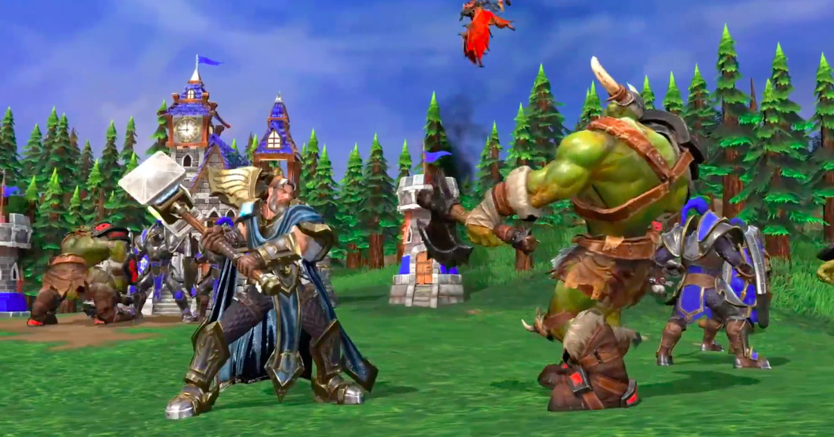 Warcraft 3: Reforged is the HD remaster of the classic