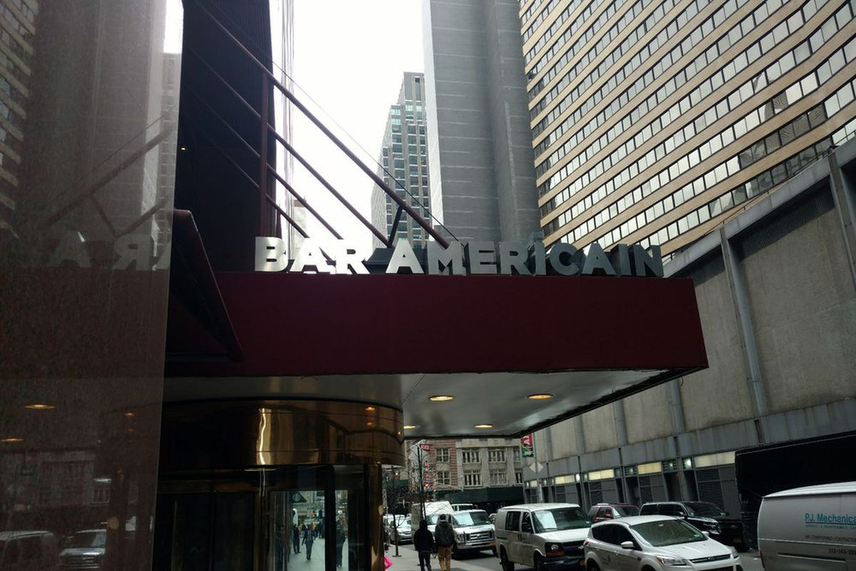 bobby flay s bar americain in nyc closes today eater ny. Black Bedroom Furniture Sets. Home Design Ideas