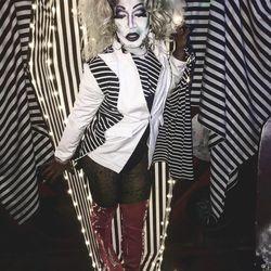 One of Dymond V. Westbrooke's best Halloween looks.
