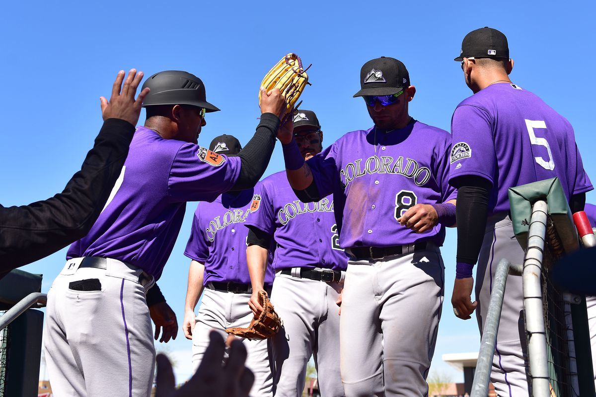 online retailer 9f206 37743 Are the Rockies due for an updated uniform design? Let's ...