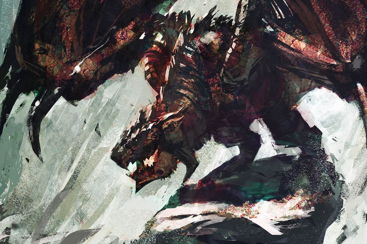 Monster Hunter beasts come alive in dramatic fan art from