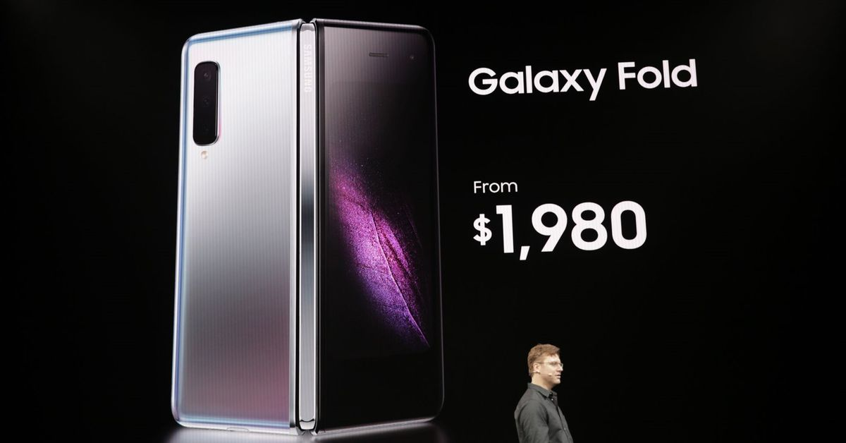 Samsung's foldable phone is the $1,980 Galaxy Fold - The Verge thumbnail