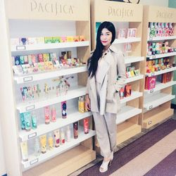 """""""I was like a kid in a candy store when I stopped by <a href=""""http://www.pacificaperfume.com/"""">Pacifica</a> for a factory tour to see how their makeup is developed, made and packaged."""""""