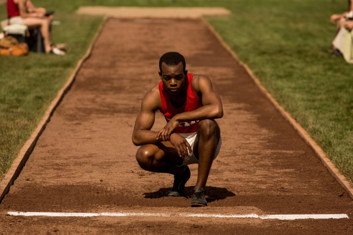 Stephan James stars as Jesse Owens in the new biopic Race.