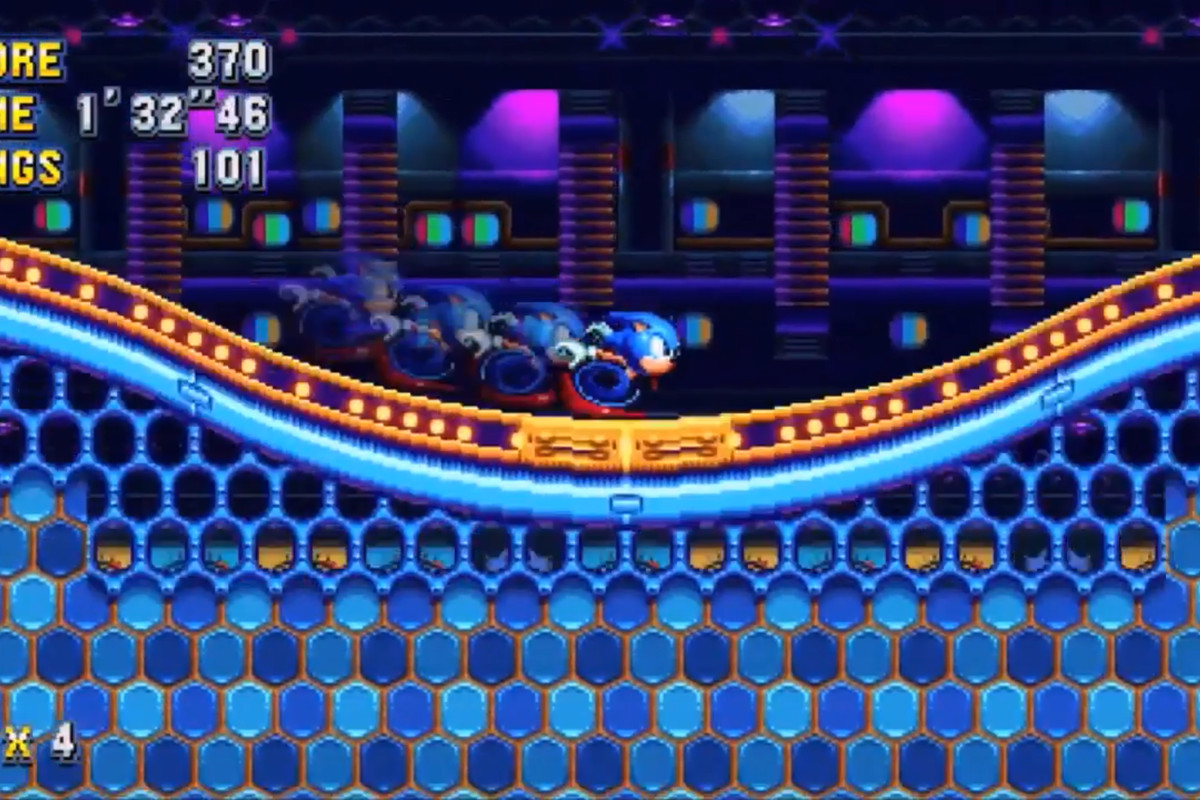 Sonic Mania is good because it's simple - The Verge