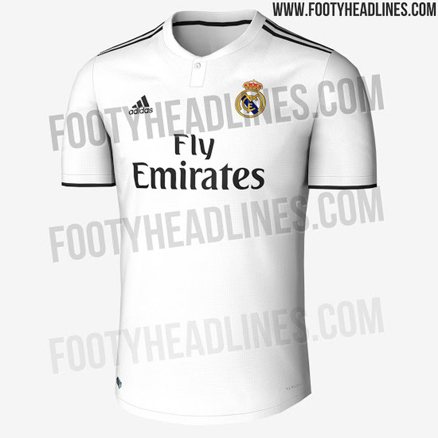 more photos 9892e 88524 Real Madrid 18/19 home kit leaked - Managing Madrid