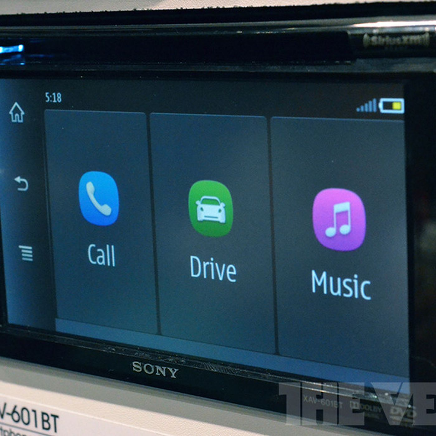 Sony s new MirrorLink enabled car head units put your smartphone in the dashboard hands on The Verge