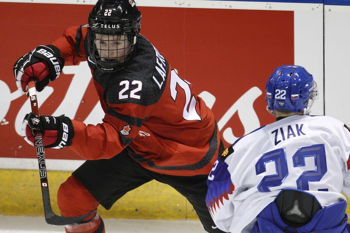 Canada v Slovakia: Exhibition - 2019 IIHF World Junior Championship