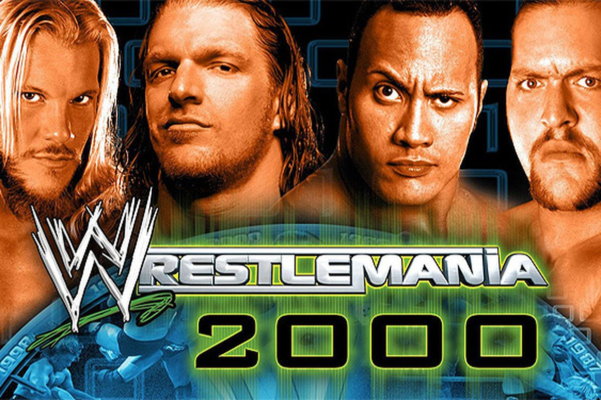 Image result for WrestleMania 2000 Poster
