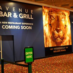 Avenue Bar & Grill will replace the former Studio Cafe.