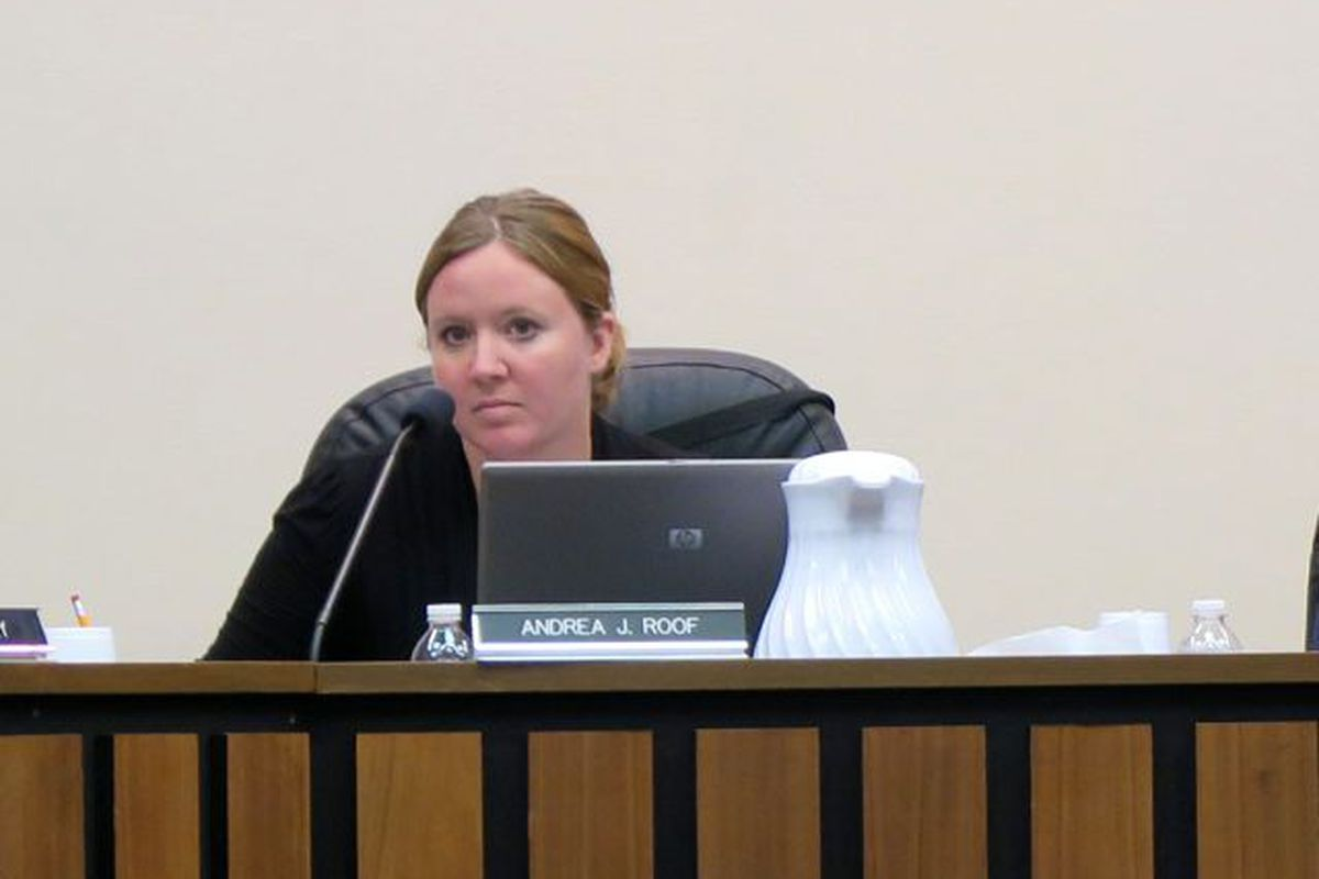 Annie Roof is running to keep her spot on the IPS school board.