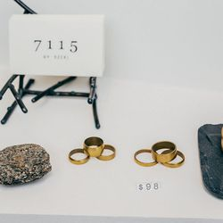 Brass Ring Trios, $98