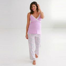 """<b>Izzy Grinspan, Racked Editorial Director</b>: """"If there's an upside to being up all night with a new baby (aside from the whole, like, nurturing new life thing), it's probably the opportunity to buy cute nursing pajamas. Last summer when I was on mater"""