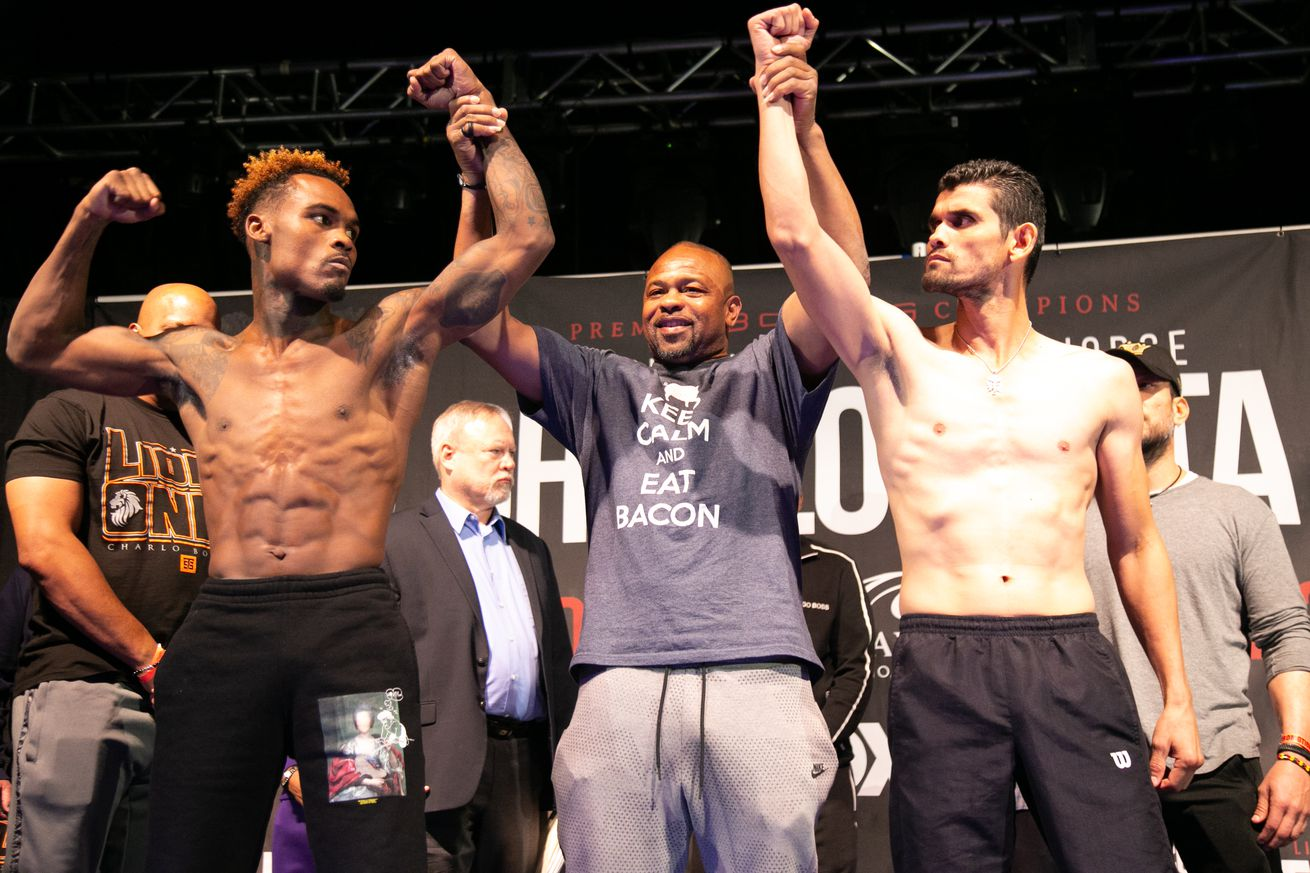 Weigh In 06 23 2019 Weigh in Leo Wilson   Premier Boxing Champions.0 - How to watch Charlo vs Cota