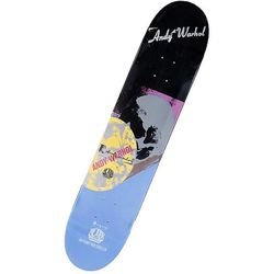 """Silent auction item: <a href=""""http://www.gagosian.com/""""target=""""_blank"""">Gagosian Gallery</a>'s Andy Warhol skateboard by Alien Projects, 2010."""