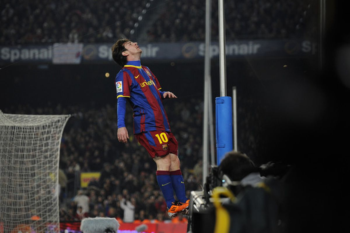 The sky is the limit for Leo Messi