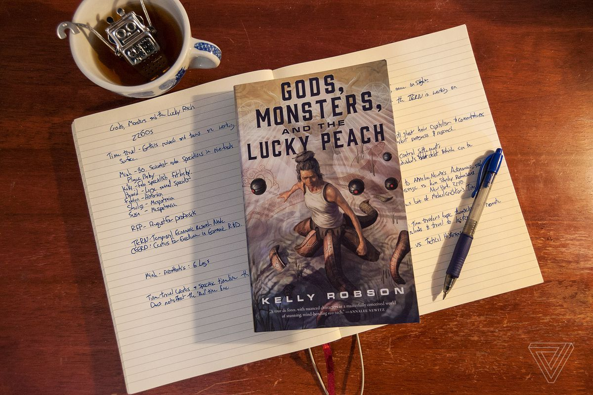 Adventure Story Ideas gods, monsters, and the lucky peach is a time-travel