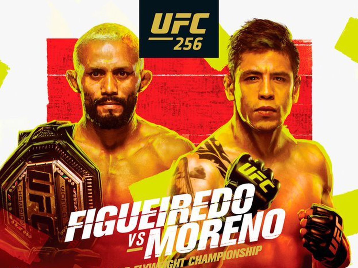 Pic: UFC 256 poster drops for 'Figueiredo vs Moreno' on Dec. 12 in Las  Vegas - MMAmania.com