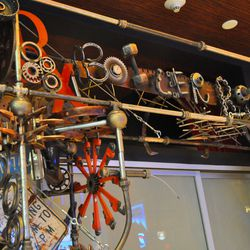 """RM Seafood has been completely revamped with a """"steampunk"""" theme."""