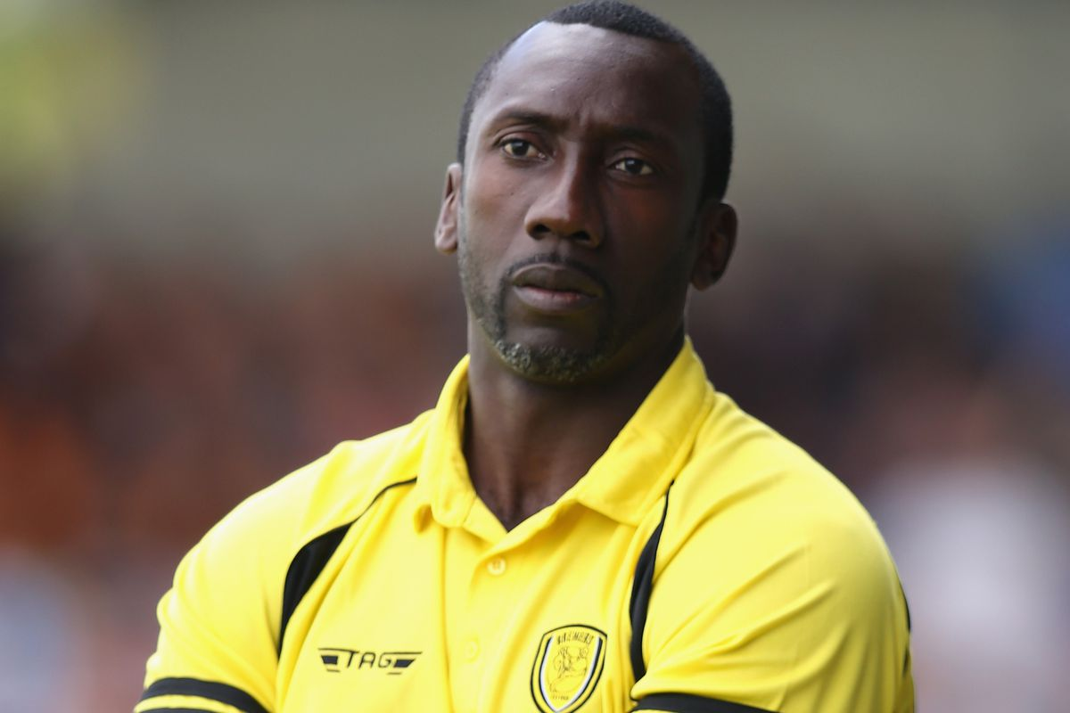 Jimmy Floyd Hasselbaink brings his Burton Albion side to the Macron tonight