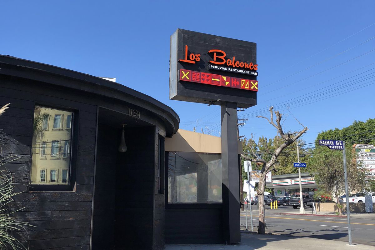 Peruvian Los Balcones Expands To Studio City In The Former