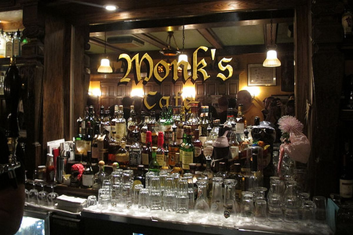 Monk's is pouring some super-rare stuff today.