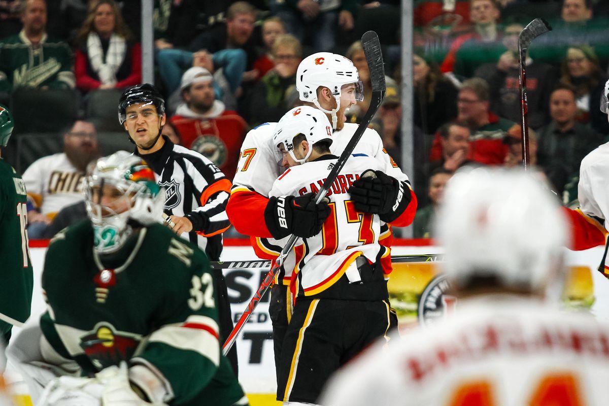 NHL: JAN 09 Flames at Wild