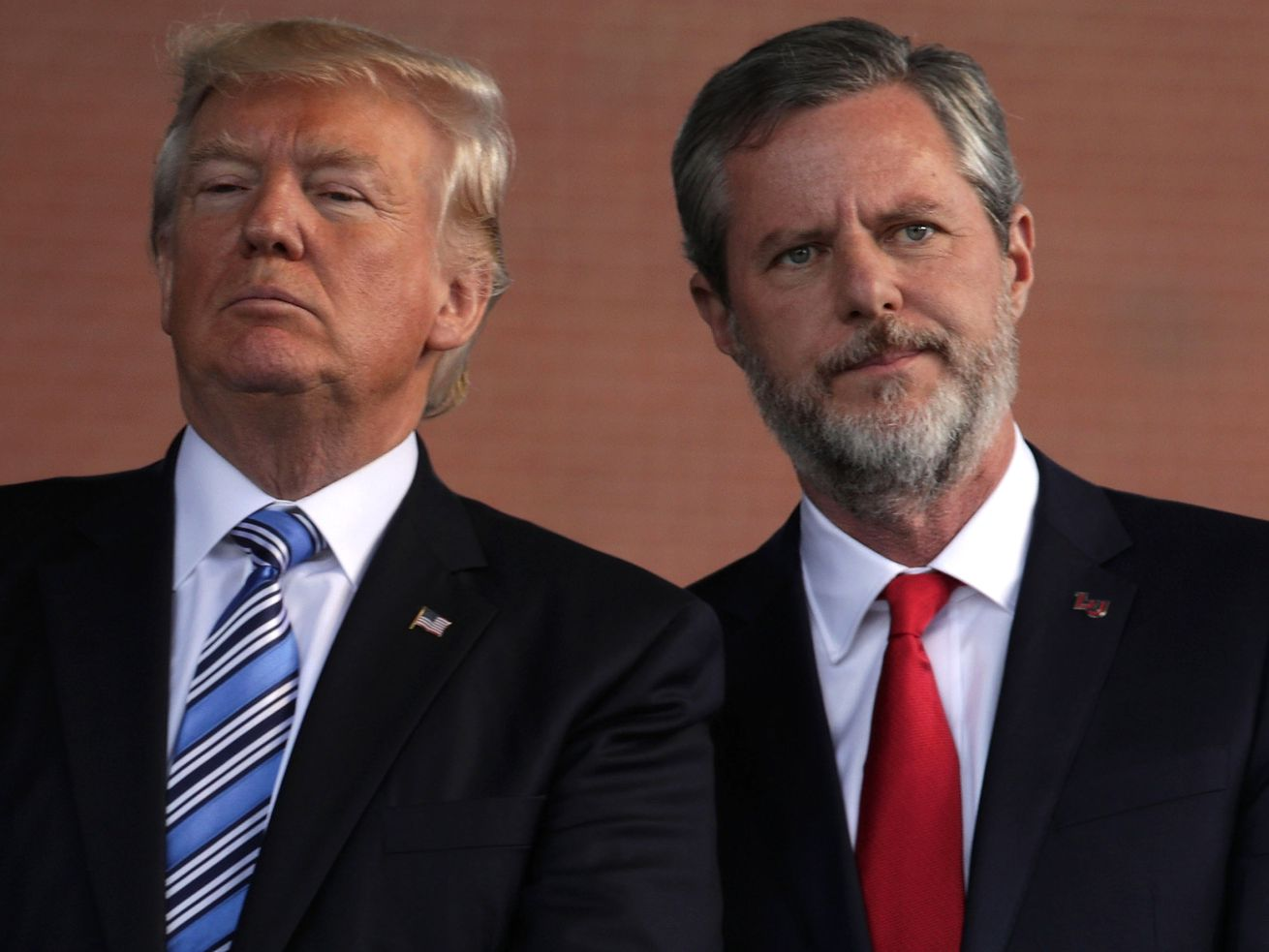 Jerry Falwell Jr. is a longtime Trump ally.