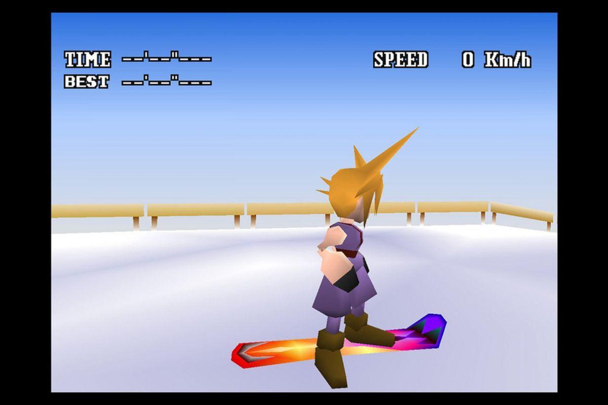 Final Fantasy 7 Nes Demake Overhauled By Modders Polygon