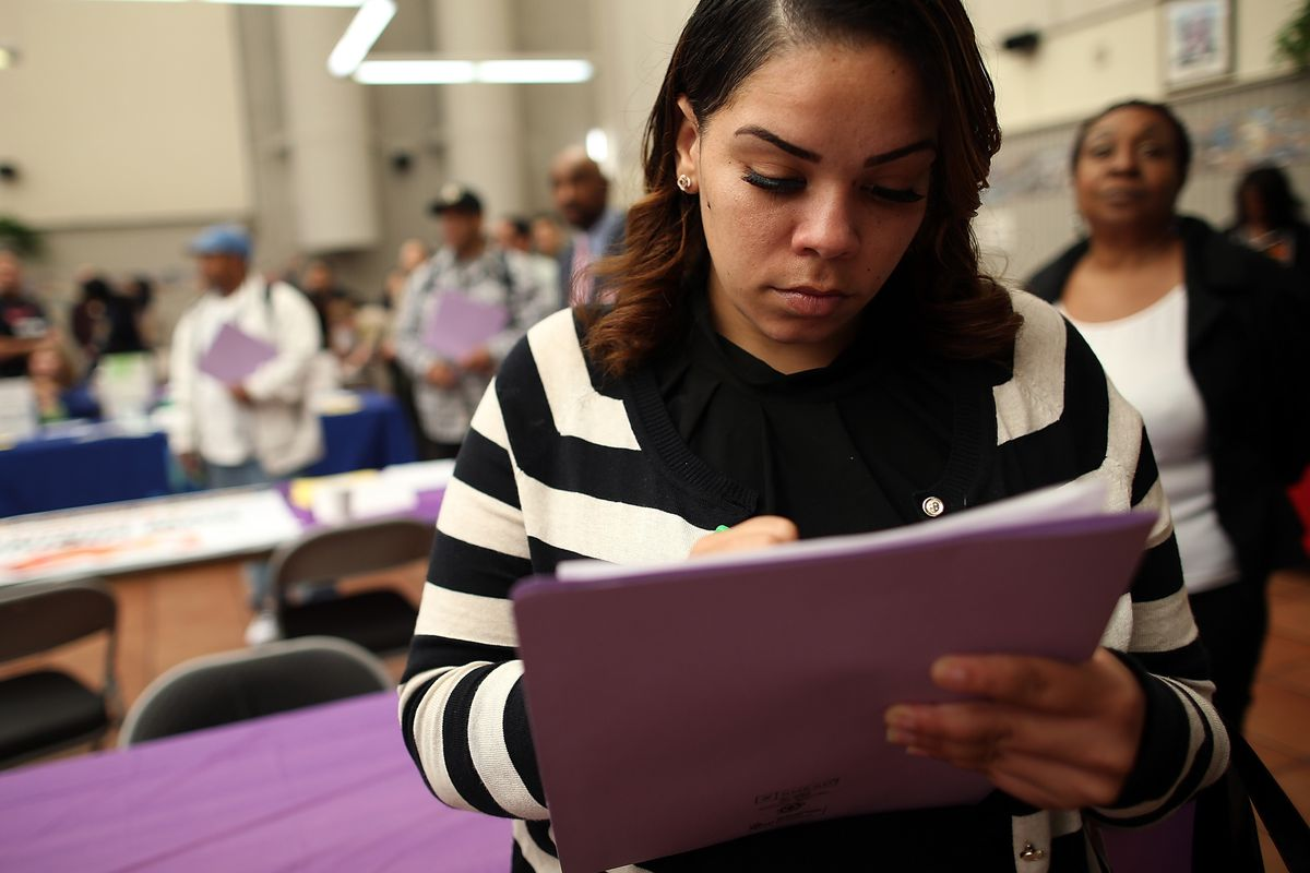Lots of Americans have been filling out job applications for more than a year now. Can job training help them?