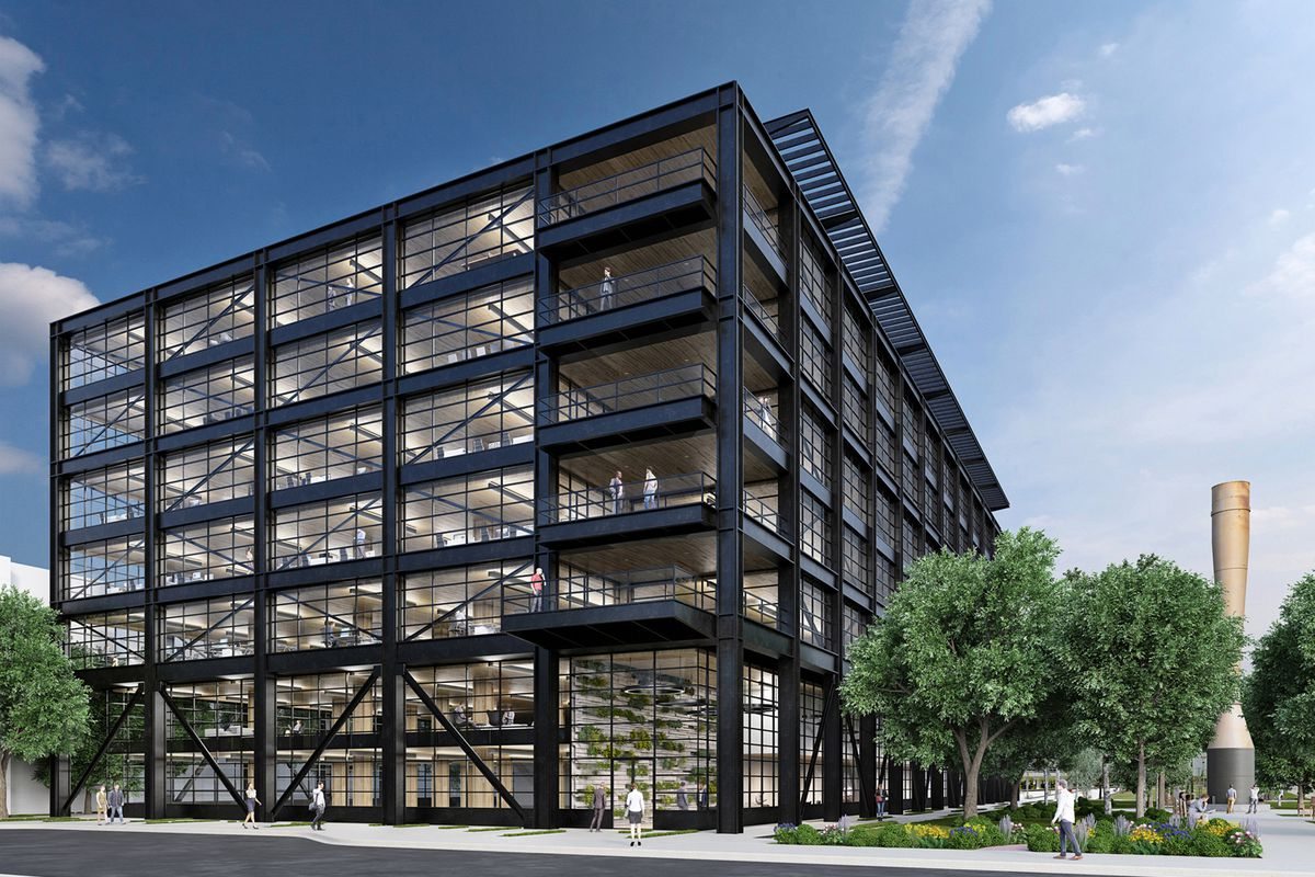 Construction Of Steel Buildings: Unique Atlantic Station Offices Slated For Groundbreaking