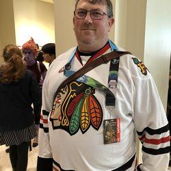 WHL Portland Winterhawks fan at ECCC.