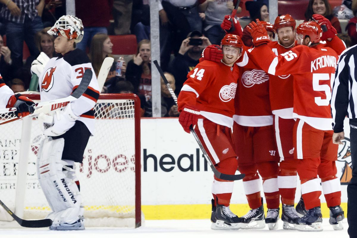 The last Devils-Red Wings game did not go well for the Devils. At all.