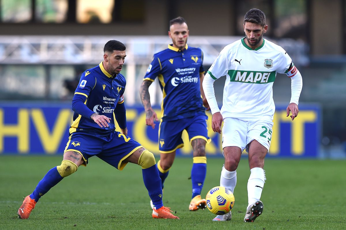 Hellas Verona FC v US Sassuolo - Serie A
