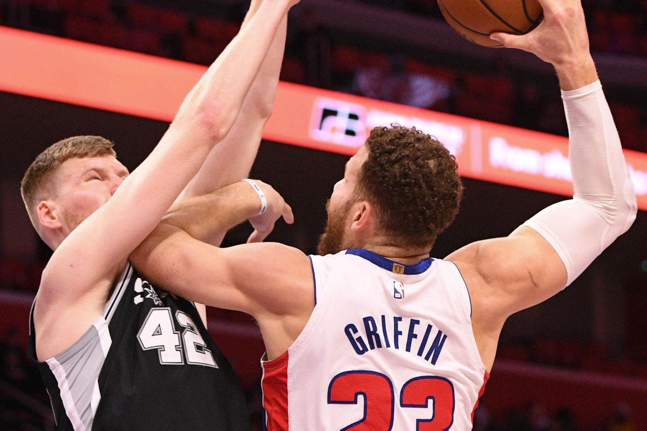 Pistons at Spurs GameThread: Game time, TV, odds, and more