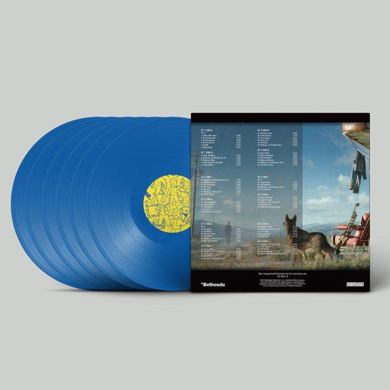 Fallout 4 Deluxe Vinyl Soundtrack back 800