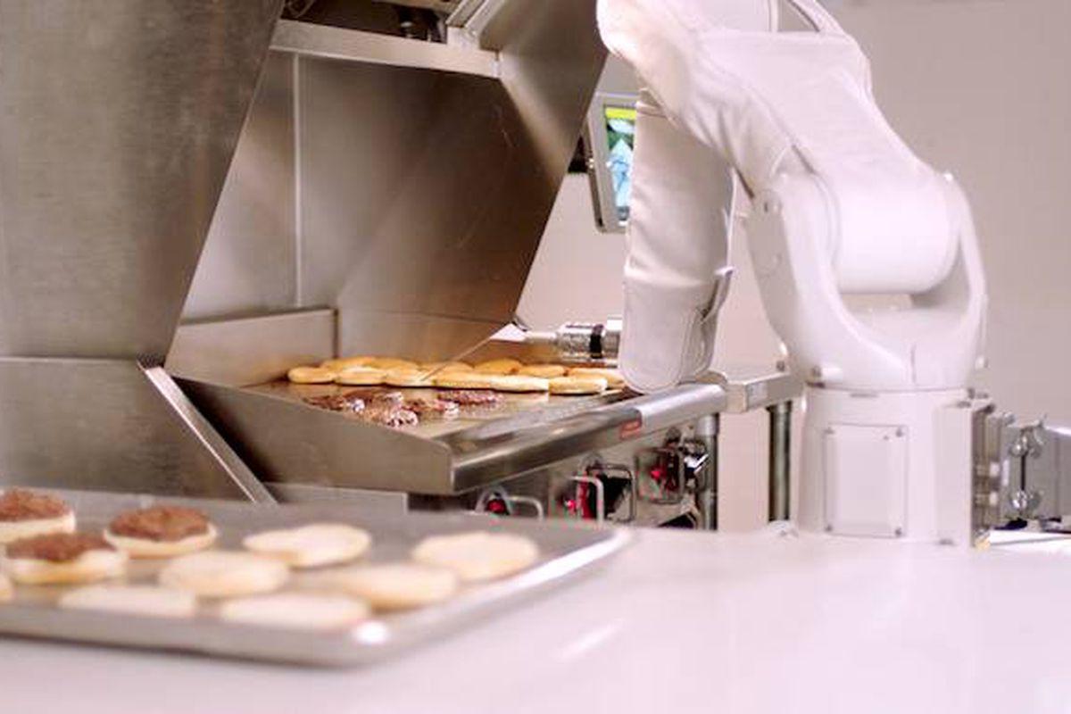 Burger-flipping robot takes four-day break immediately after landing ...