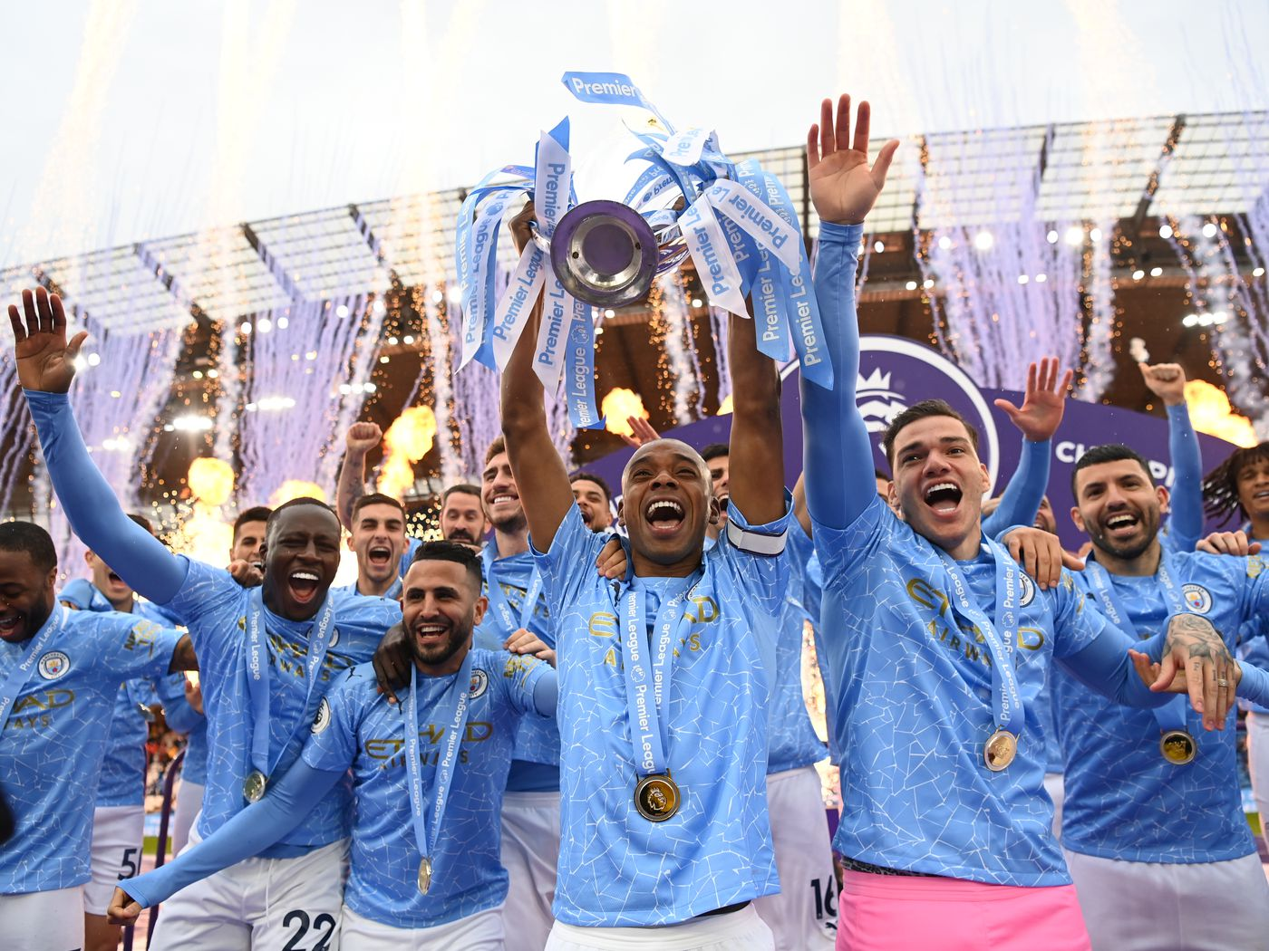 Manchester City Champions Of England Best Pictures And Videos Bitter And Blue