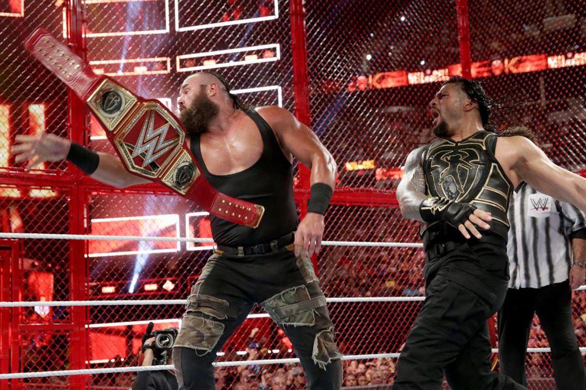 Braun Strowman Returns Cageside Seats Archives – Houriya Media