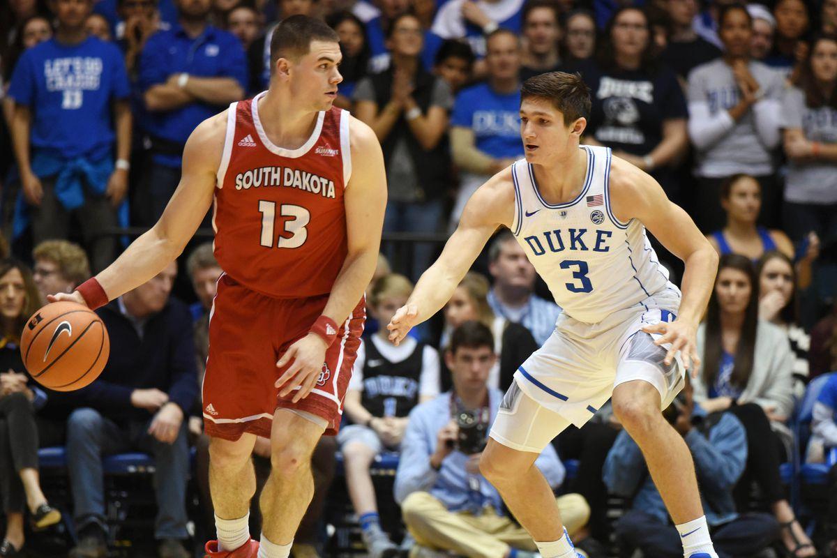 NCAA Basketball: South Dakota at Duke