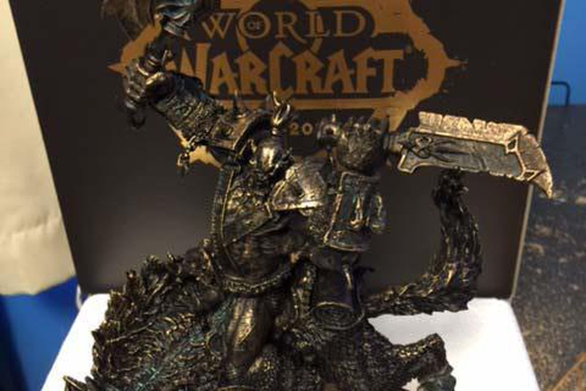 World of Warcraft 10-year subscribers will get this statue