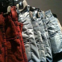 Theysken's Theory denim shorts