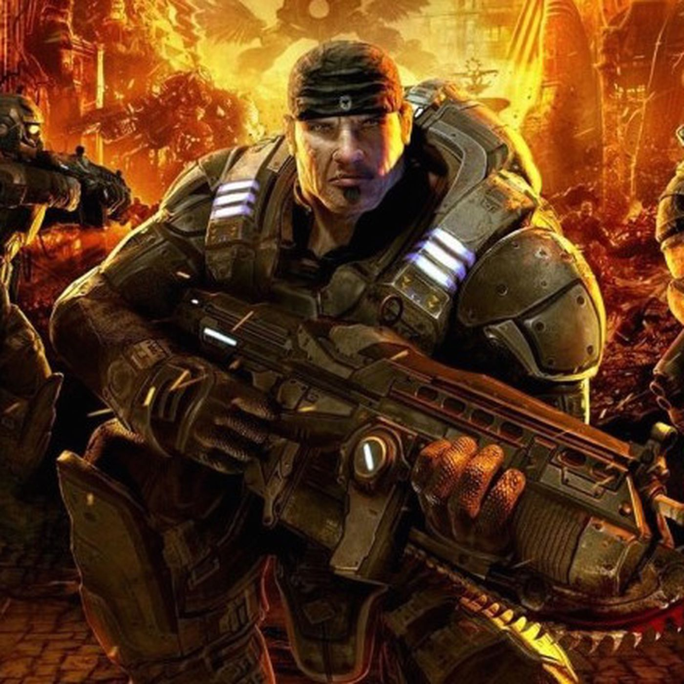 There S Going To Be A Gears Of War Movie The Verge