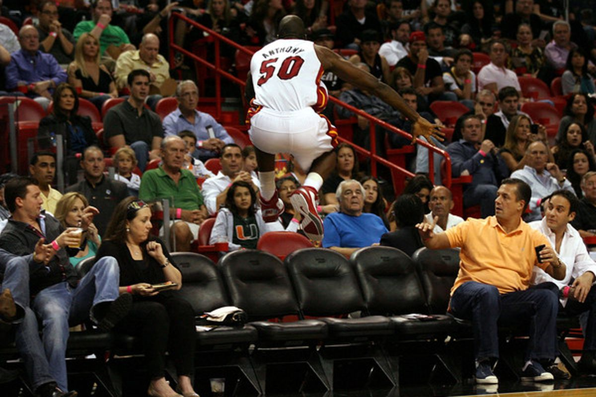 More of this kind of effor from Joel Anthony coming again tonight?