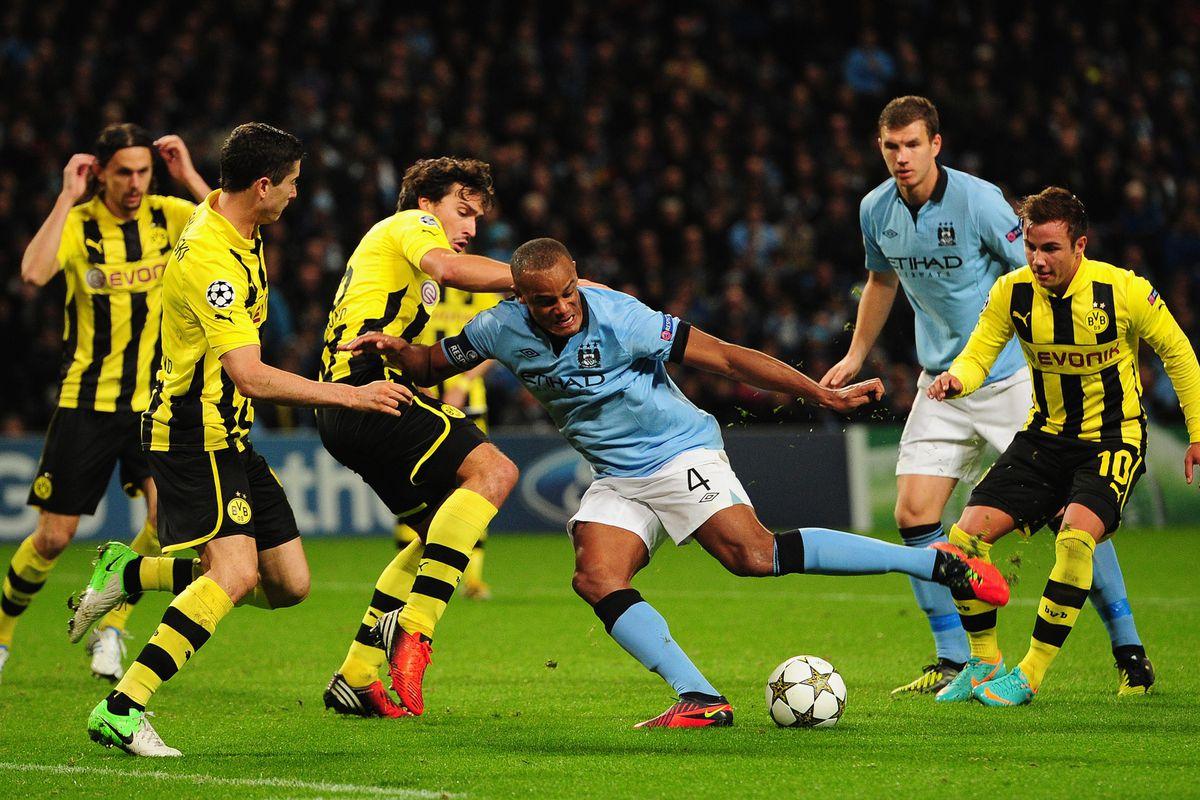 Bvb Vs Manchester City