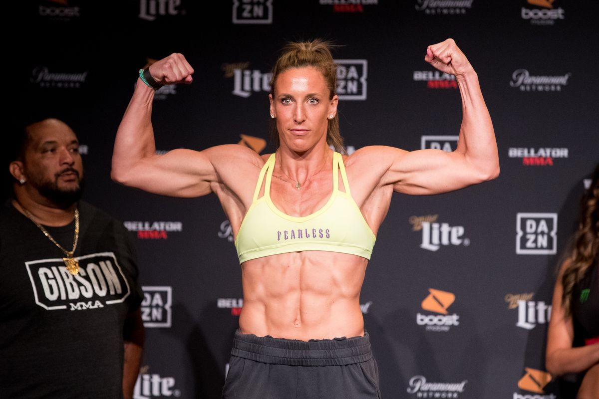Julia Budd will step on the scale at Bellator 238 weigh-ins Friday.