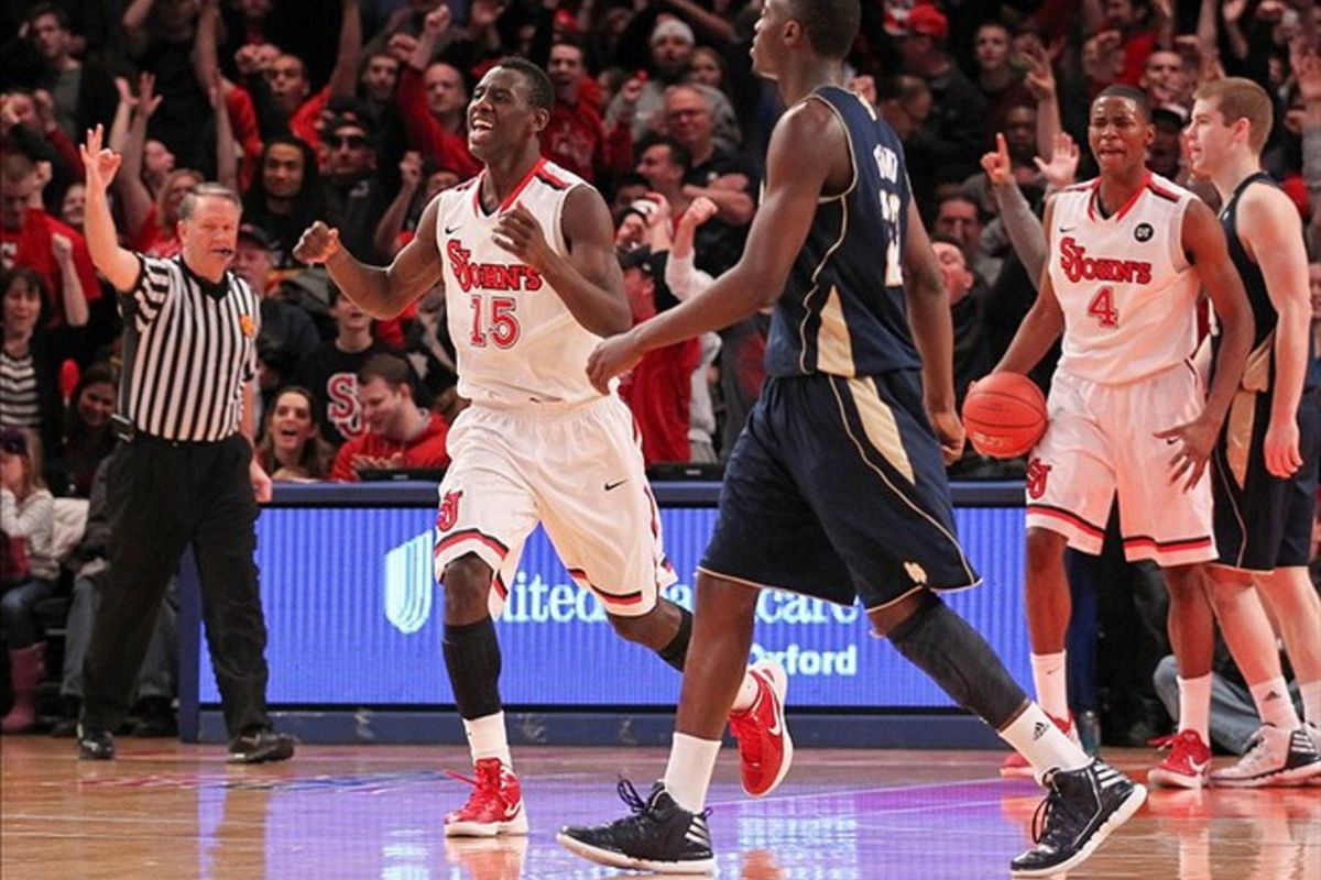 Saturday's win over Notre Dame may have been the young Red Storm's best Garden moment yet.  Can the MSG magic continue next week at the Big East Tournament?
