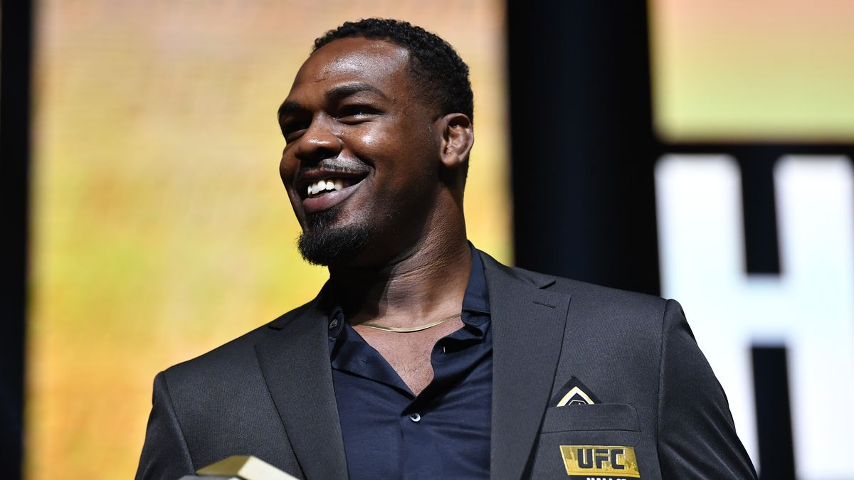 Jon Jones was arrested this morning for domestic violence.