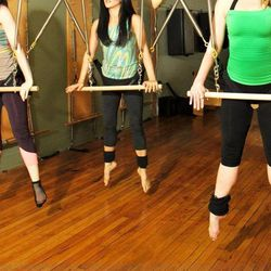 """If you're looking for a more refined option then check out <strong>Informed Technique</strong> at <a href=""""http://www.informedbody.com/"""">Informed Body</a>. The workout combines dance and ballet techniques with Pilates, all on a custom built suspension sys"""